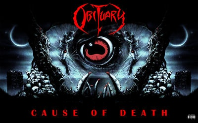 Obituary - Cause of Death, wallpaper