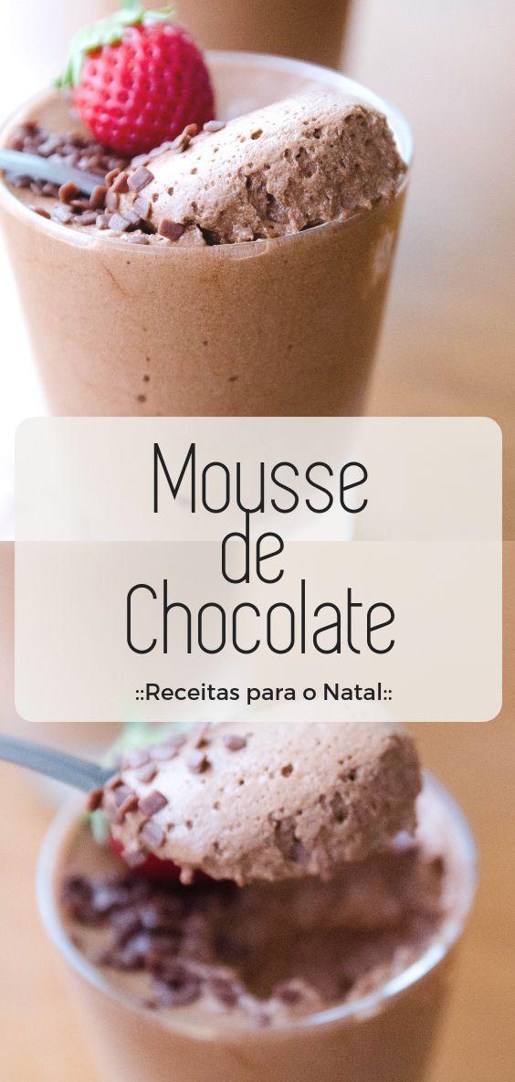Mousse de Chocolate Tradicional
