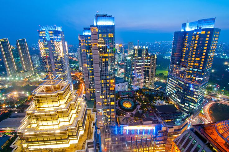 Jakarta is a thriving metropolis with a population of ten million