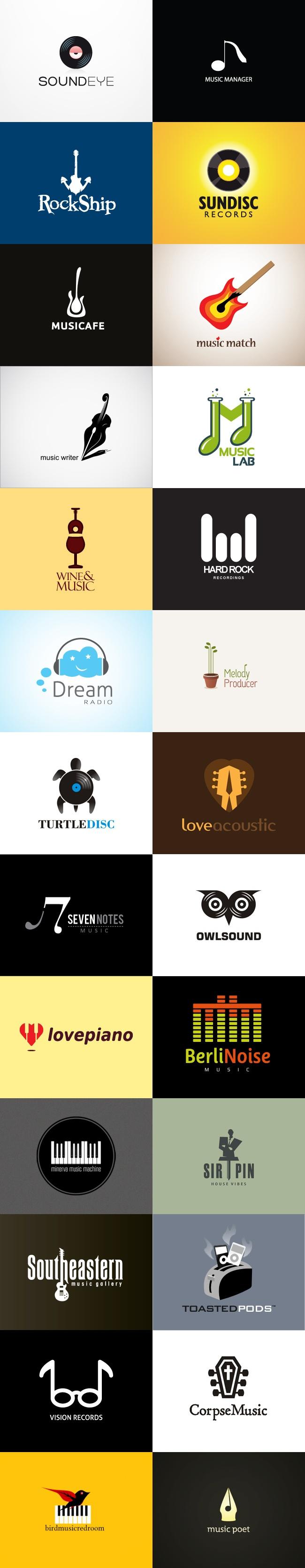 grafiker.de - Logo-Inspiration: Musik Teil 2