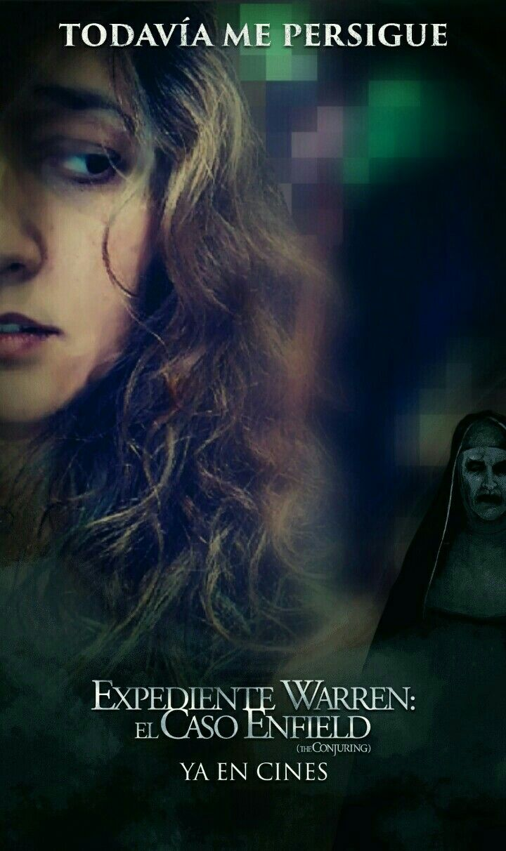 "Snapchat effect ""The Conjuring 2"" // Filtro de ""Expediente Warren 2"" en Snapchat"