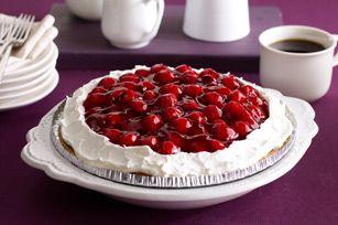 No-Bake Chocolate-Cherry Cheesecake recipe