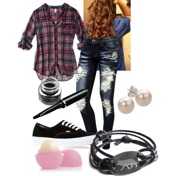 """The Teen Scene Outfit 1"" by emoshady on Polyvore"