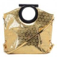 Michael Kors Mirror Metallic Patent Leather Clutches Golden   $79.00             http://www.newperfectstyle.com/