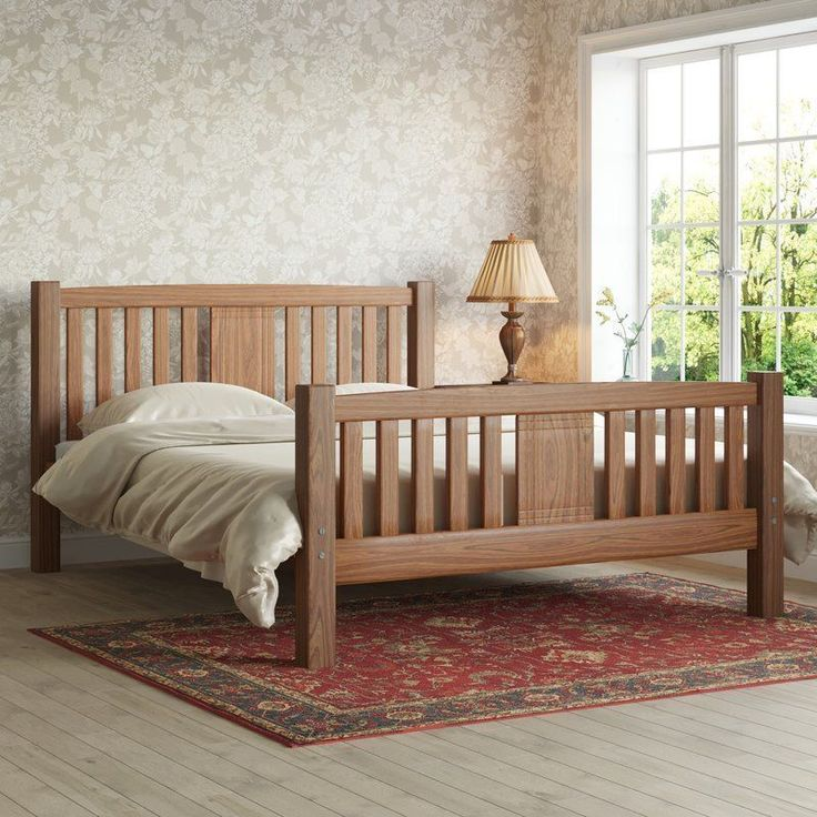 Wooden Bed: Best 25+ Wooden Double Bed Ideas On Pinterest