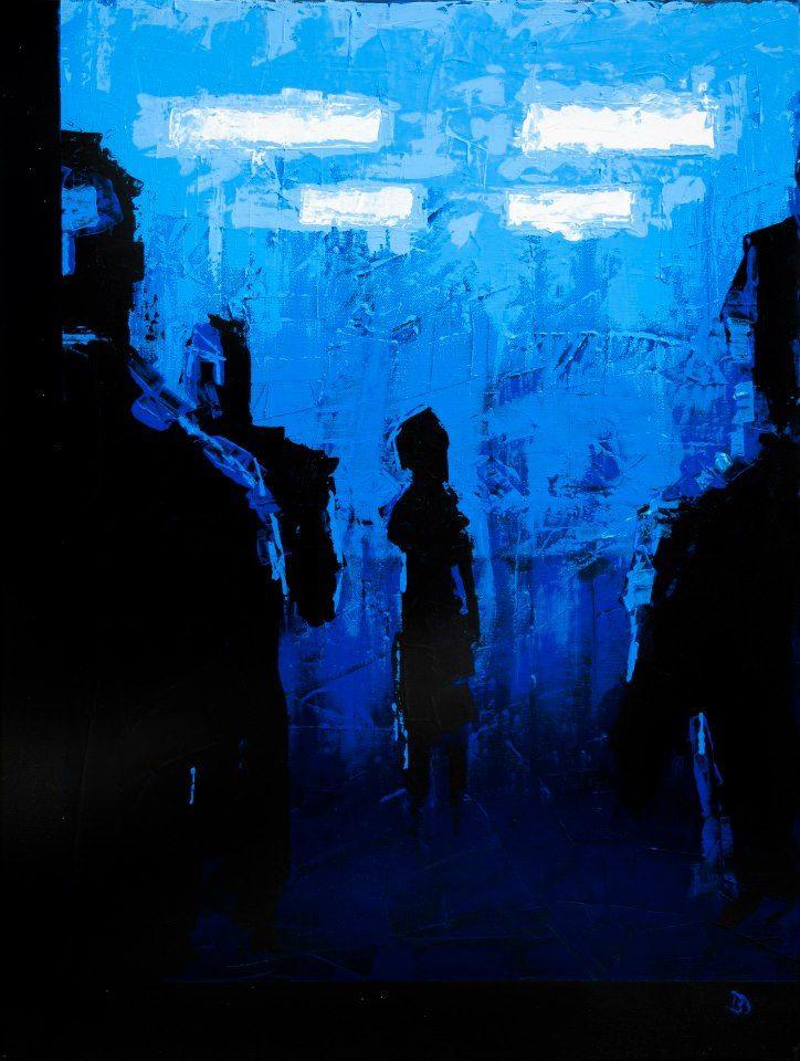 (Far) - Acrylic on canvas (50 x 70cm)