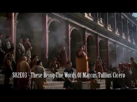NEWSREADER - HBO Rome - The Newsreader - A true Roman video for true Romans - YouTube