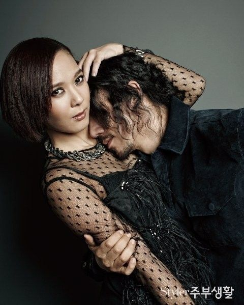 Tiger JK and Yoon Mi Rae