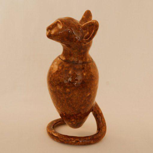 kleine kat bruin | Ambacht en Design