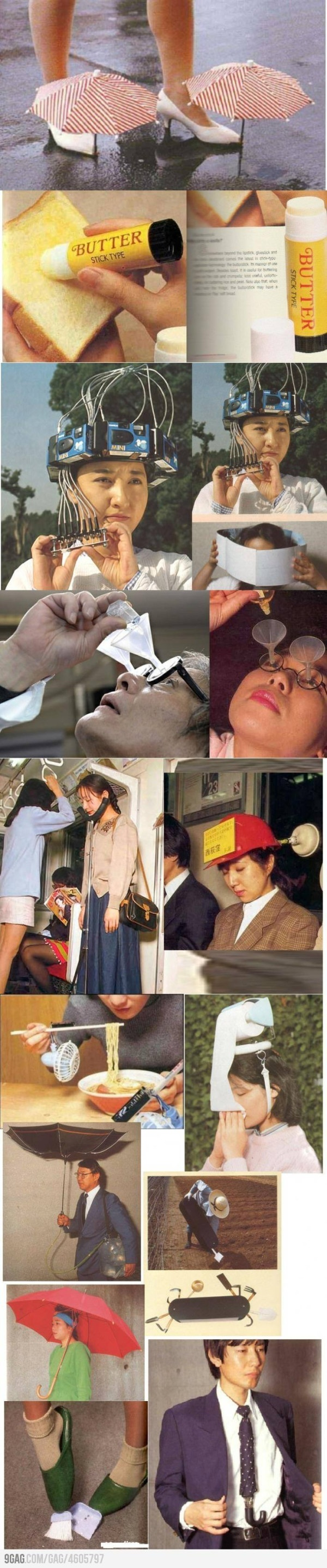 Useless chinese inventions! Some don't look completely useless to me! LOL