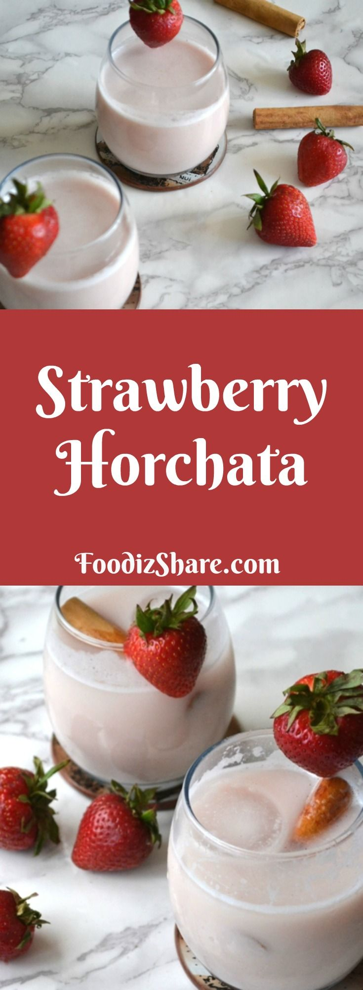 Horchata, a non-dairy beverage very popular in Latin America, is traditionally made by grinding rice and nuts into milk. This recipe is for a fruit horchata. #recipes #dairyfree #beverage #Healthy