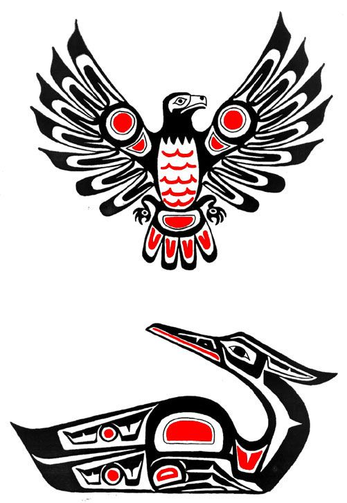 22 Haida Tattoos - Photos, Designs for men and women