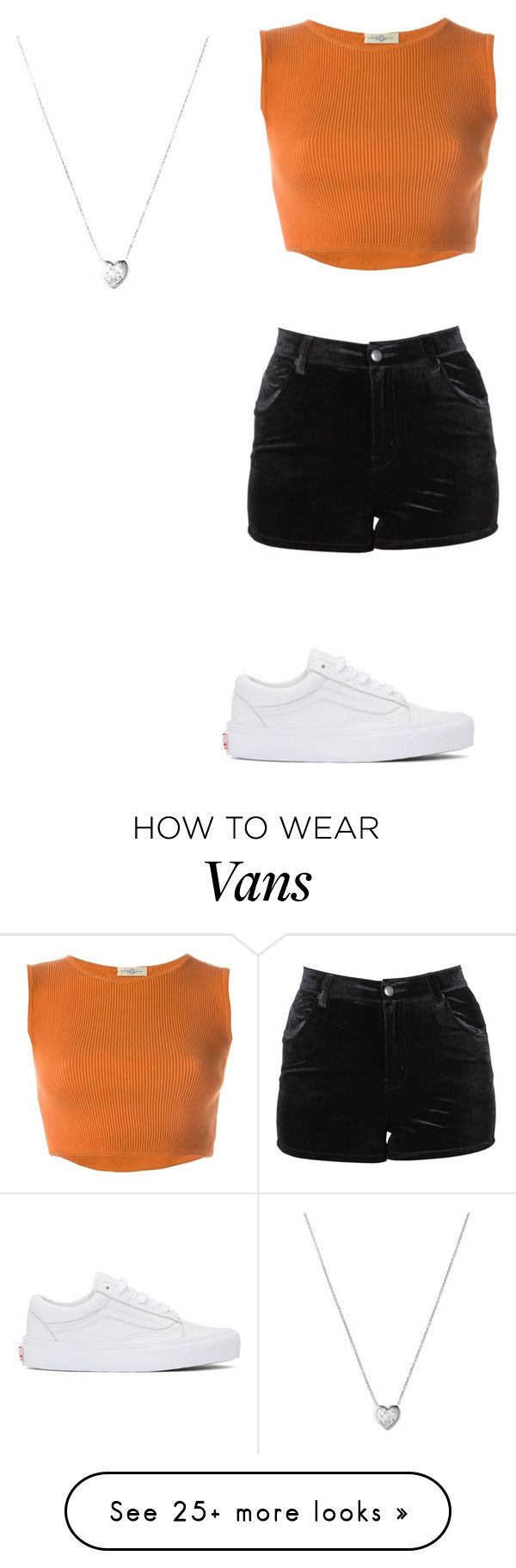 """""""Untitled #2585"""" by angfra on Polyvore featuring Vans, Romeo Gigli, Evil Twin and Links of London"""
