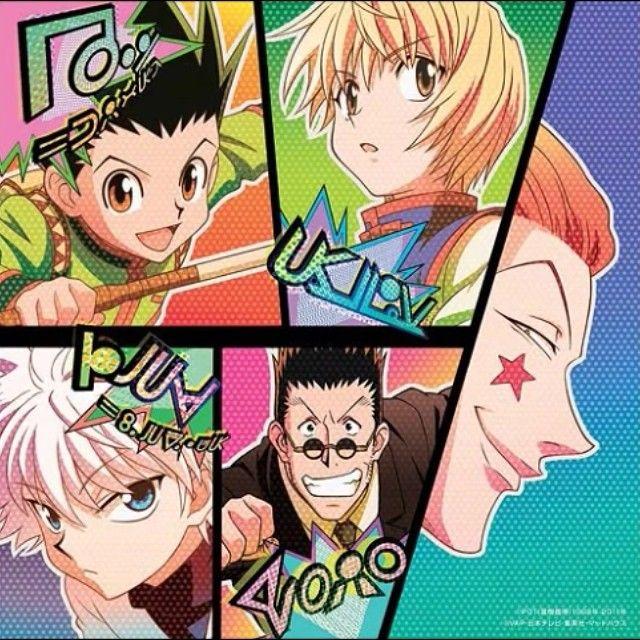 Hunter x Hunter - Gon, Kirua, Kurapika, Leorio & Hisoka