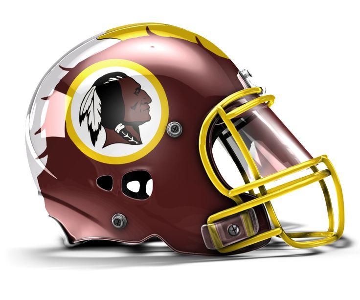 Awesome Redskins Helmet
