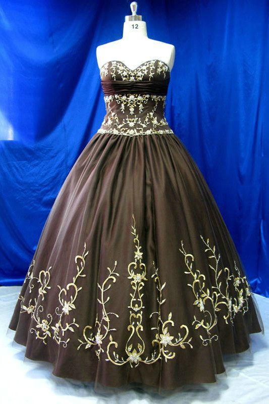 A Line Sweetheart Embroidery Sash Pleated Black Wedding