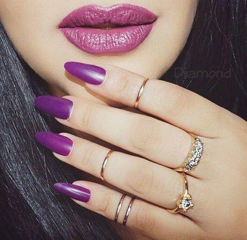 Image result for same lip and nail shade