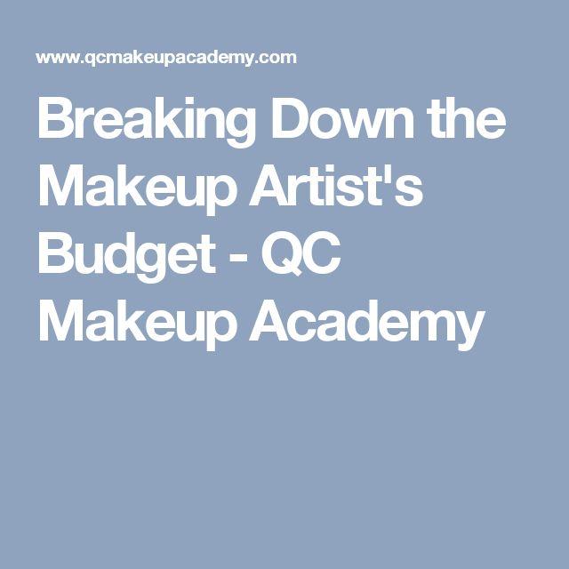 Breaking Down the Makeup Artist's Budget - QC Makeup Academy