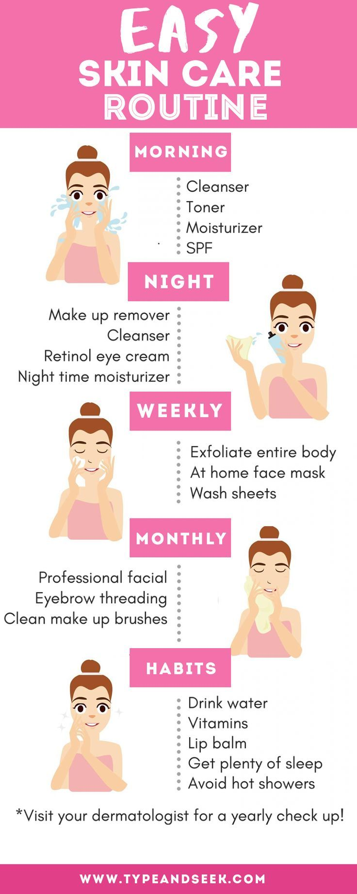 Easy Skin Care Routine That Works Wonders!  Simple skincare