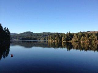 Lakeside Panabode Log Cabin, Private Dock, Families, Romantic GetawaysVacation Rental in Shawnigan Lake from @homeaway! #vacation #rental #travel #homeaway