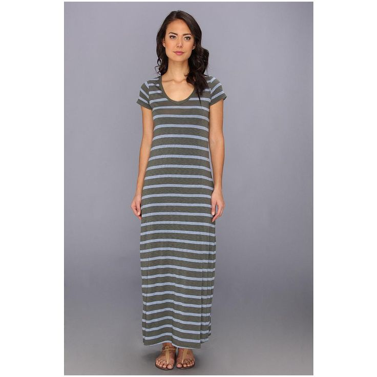 Splendid-Women-Striped-Maxi-Dress-