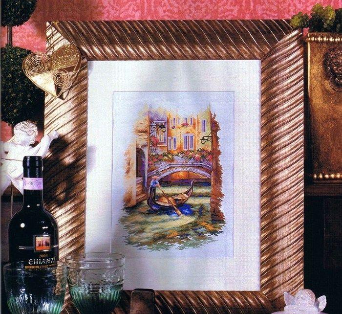 Схемы вышивки венеция бесплатно