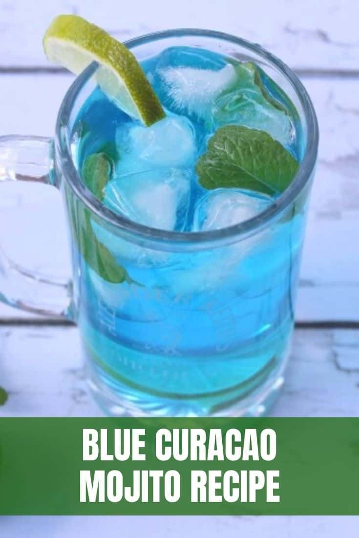 Blue Curacao Mojito Recipe Recipe In 2021 Blue Curacao Drinks Blue Curacao Curacao Drink