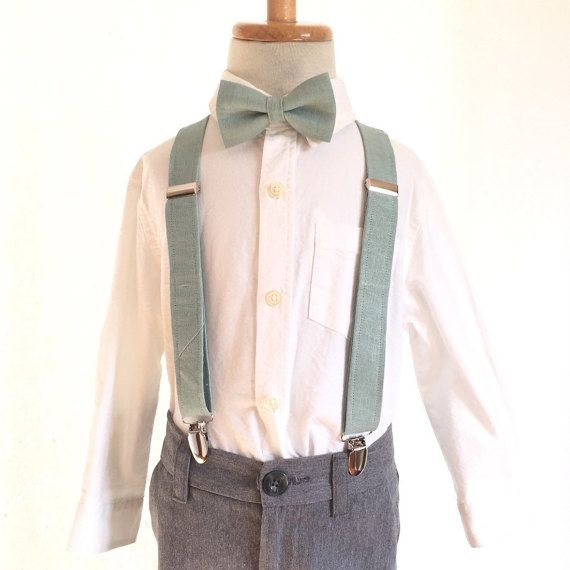 Suspenders  Boys Babies Kids Teen Sizes  Dusty by HandmadeByEmy