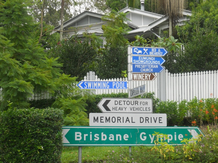All roads lead to Eumundi