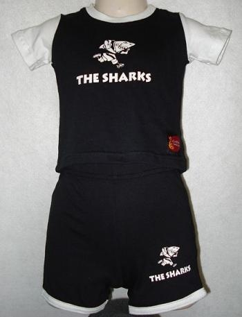 Rugby sharks for kids.