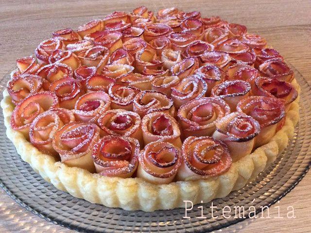 Pitemánia: Rózsás almás pite