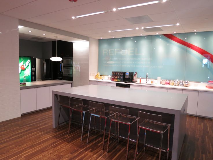 28 Best Images About Break Rooms Corporate Kitchen On