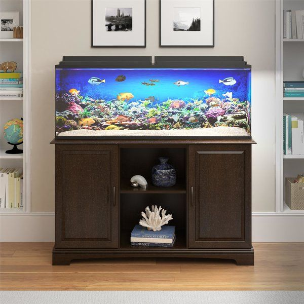 You Ll Love The Deirdre 75 Gallon Aquarium Stand At Wayfair Great Deals On All Pet Products With Free Shipp Aquarium Stand Fish Tank Stand 75 Gallon Aquarium