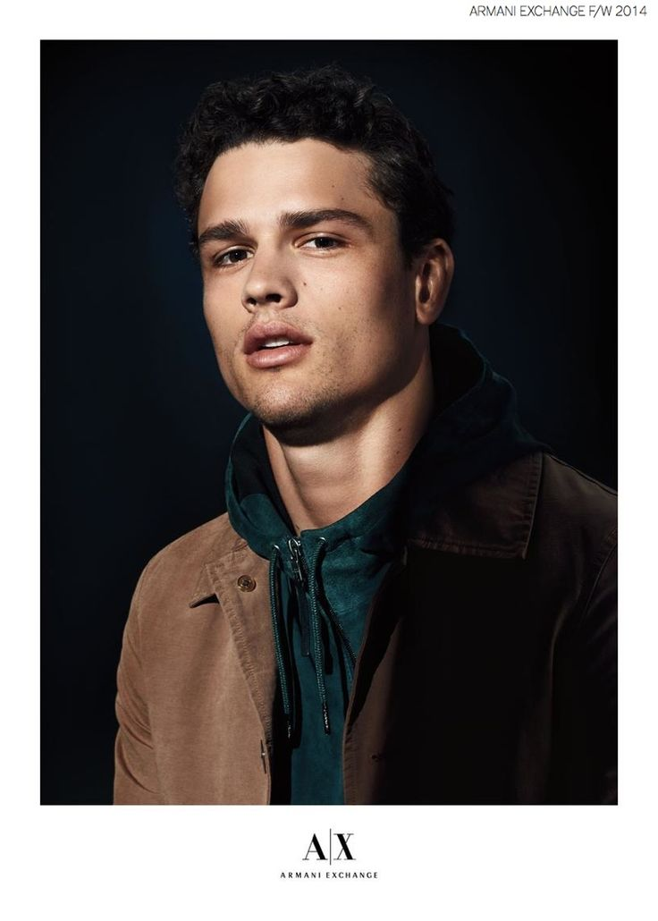 SIMON NESSMAN FRONTS ARMANI EXCHANGE FALL/WINTER 2014 AD CAMPAIGN