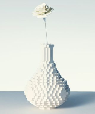 LEGO vase...would sure as hell be cheaper!
