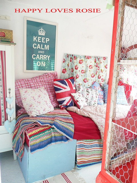 Retro/Vintage Caravan Interior