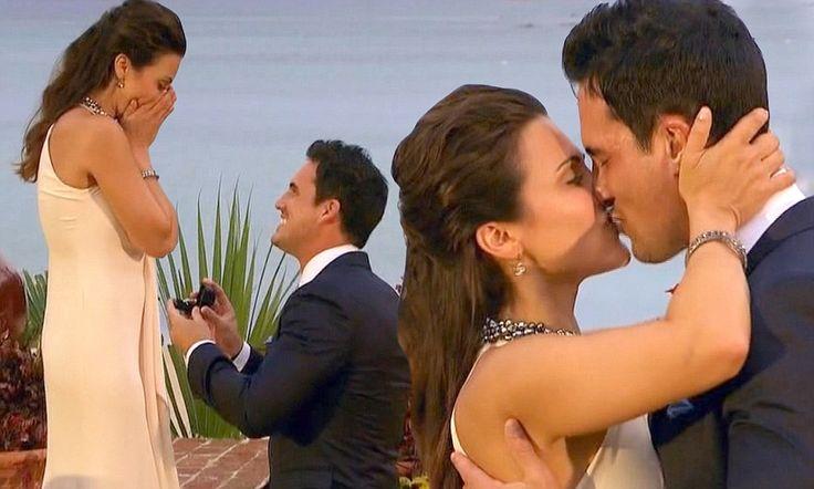Andi Dorfman accepts Josh Murray's proposal in Bachelorette finale