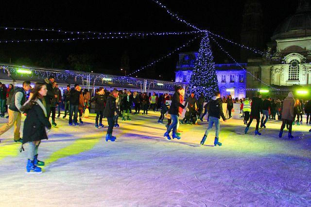 Winter wonderland Cardiff