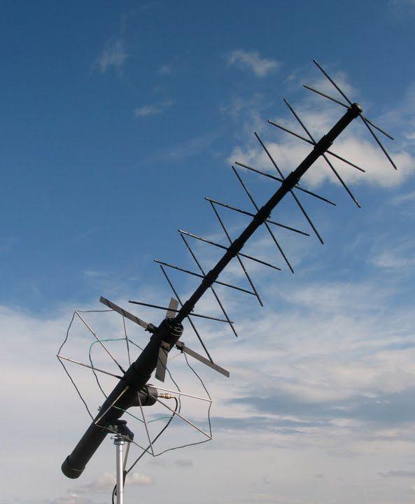 DIY UHF SATCOM antenna