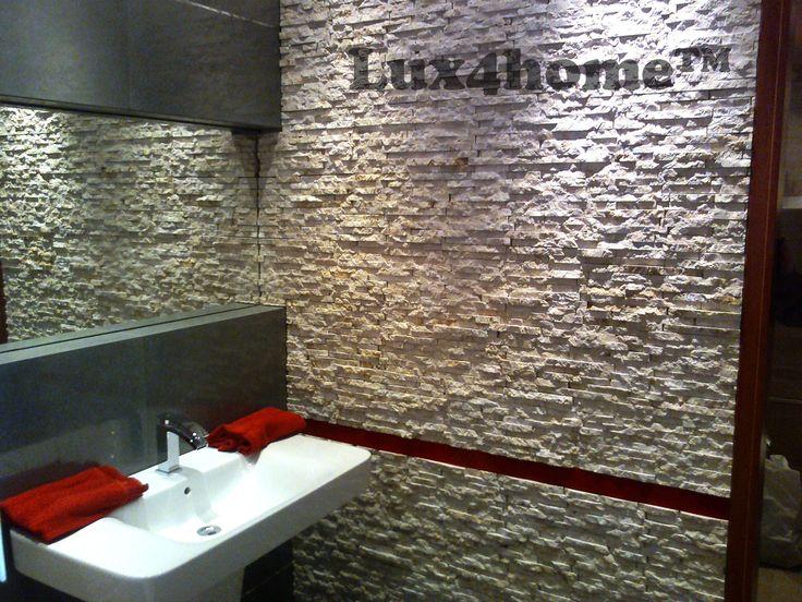 Natural stone WallCladding R240 Marble - Lux4home™ Bathroom ideas...