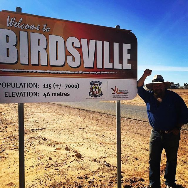 Who is heading to the #bigredbash #bigredbash2017 #birdsville Macca and the team from #lotuscaravans that's who! Got ya love #outbackqueensland