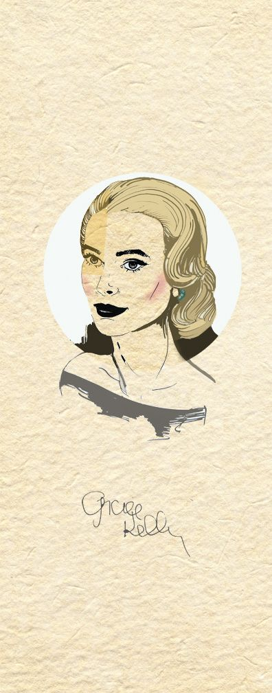 Grace Kelly the Golden Age of Hollywood on Behance