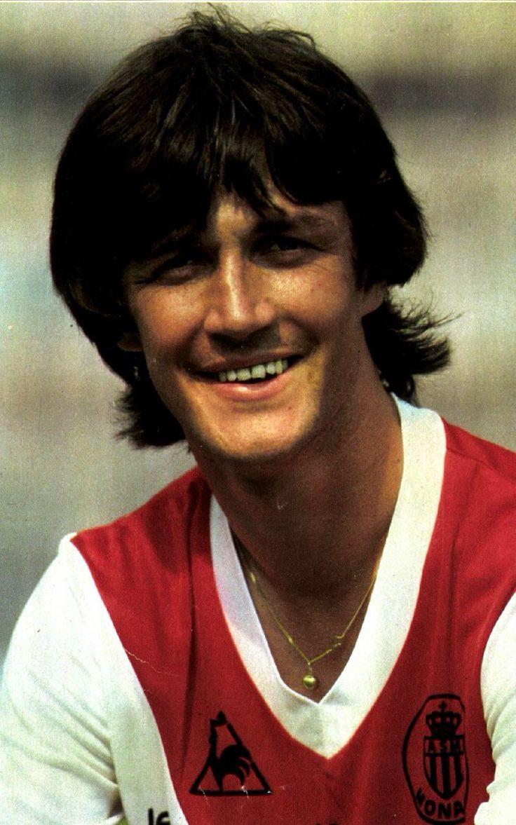 Ralf Edstrom of AS Monaco & Sweden in 1981. As monaco