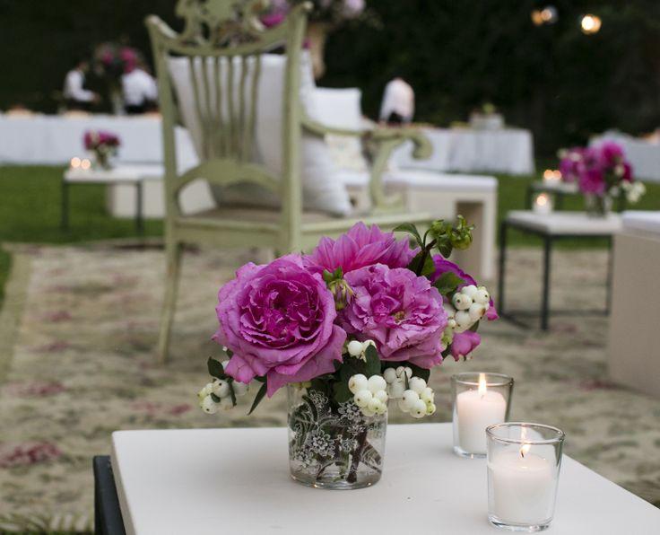 www.italianfelicity.com #wedding #peonies #candles