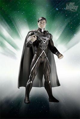 Superman, Black Lantern Action Figure by DC Direct.