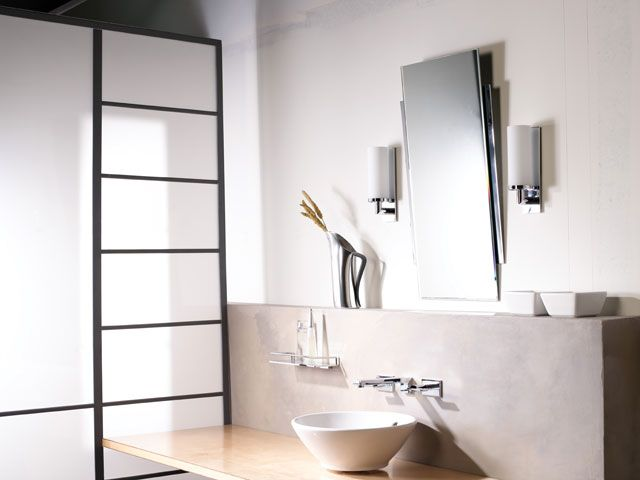 Ginger s Surface  Collection in Polished Chrome  PC  finish includes  widespread faucets  shower sets  bath accessories  lighting and mirrors. 20 best Ginger Bathroom Suites images on Pinterest   Bath