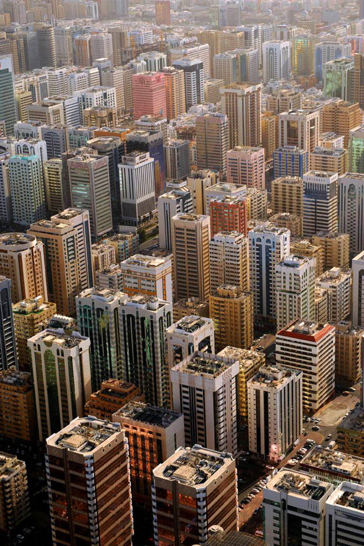Amazing Aerial Views of Dubai and Abu Dhabi by Basil Alaya