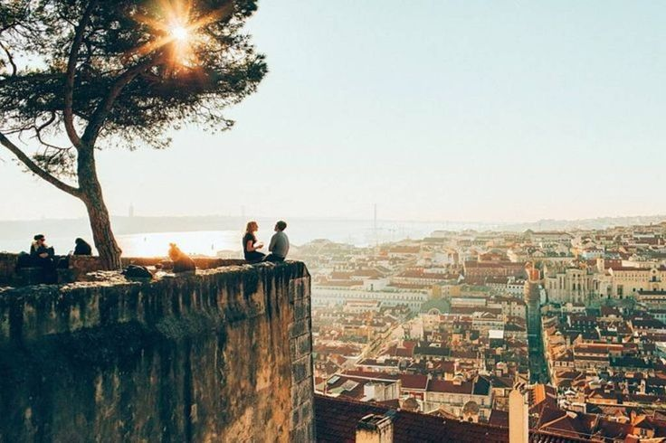 """Apartment in Lisboa, Portugal. Excellent fully equipped apartment, located within the walls of Castle of S. Jorge, one of the most important historical monuments of Lisbon. The apartment is higher than any """"miradouro"""" sightseeing spot so I it has unique breathtaking view.  THE ..."""