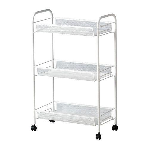 HORNAVAN ワゴン IKEA キャスター付きなので、移動が簡単です