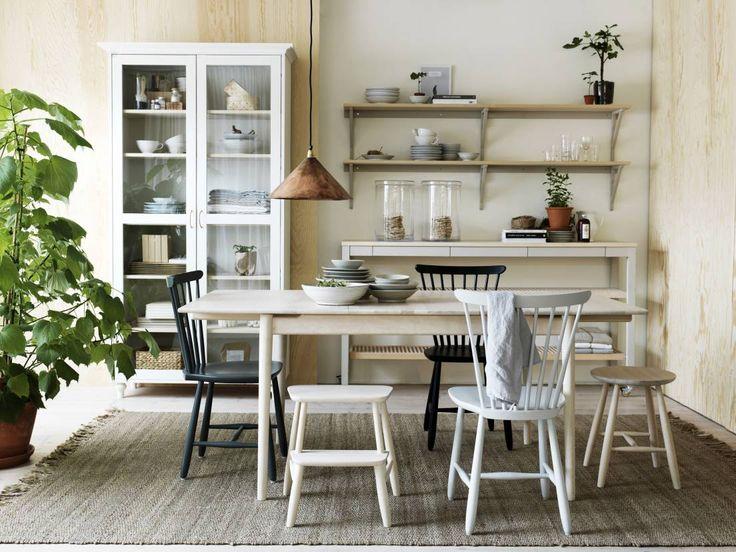 Siroja kalusteita, puuta ja rustiikkisia kattauksia – näin loihdit lisää tunnelmaa ruokailutilaan | Meillä kotona